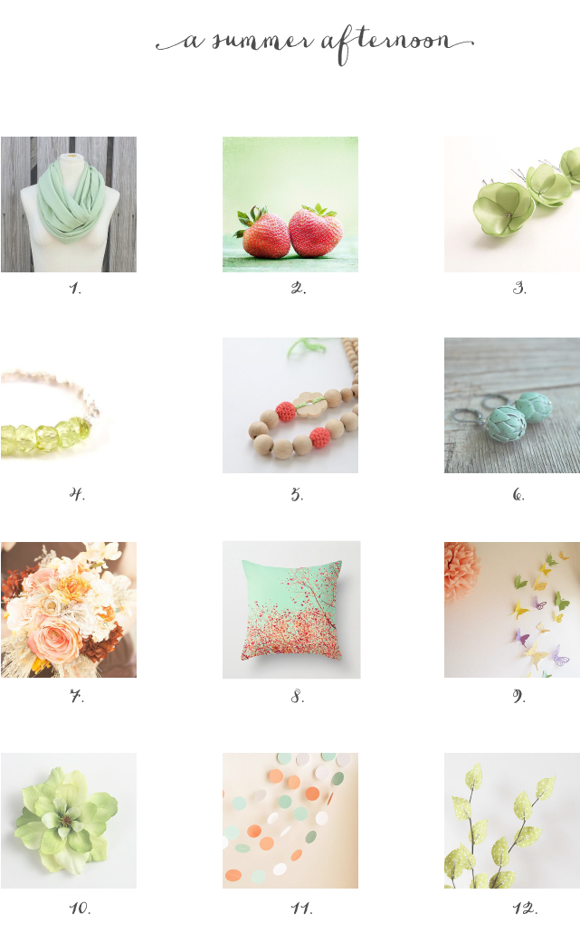 a summer afternoon treasury