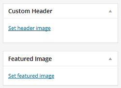 Custom header extended meta-box