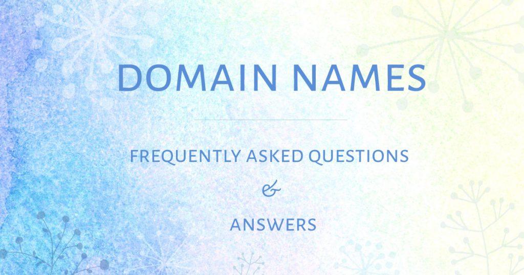 Domain-names-FAQ
