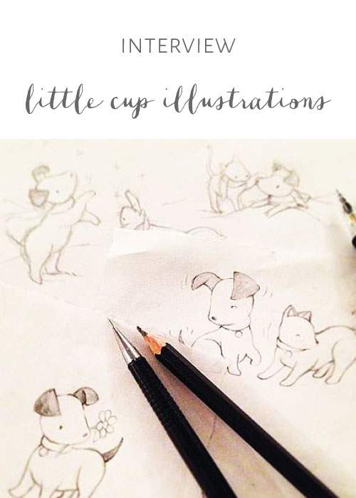 Little Cup Illustrations
