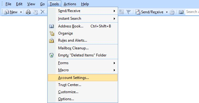 how to download emails from server in outlook