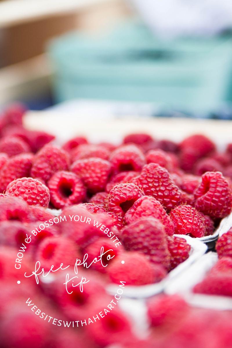 Raspberries at Market - Free image tip