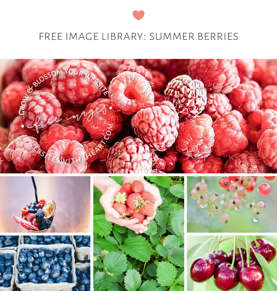 free images - summer berries