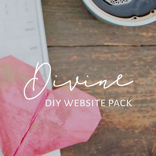 Divine DIY Website Pack