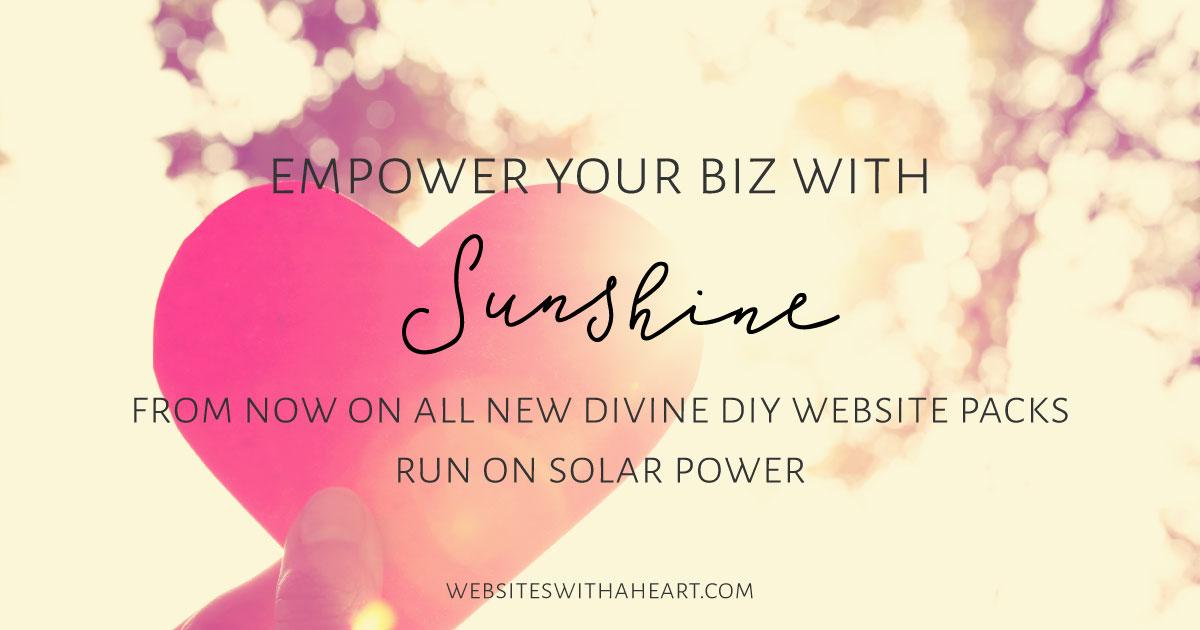 Empower your biz with sunshine