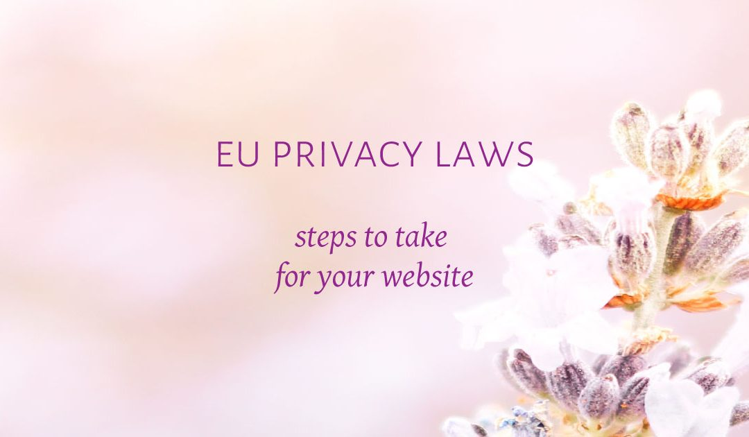 EU Privacy Laws – Steps to take to for your website