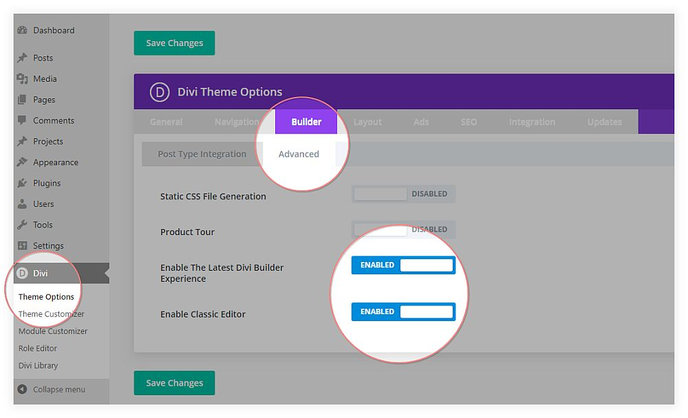 enable-latest-divi-experience