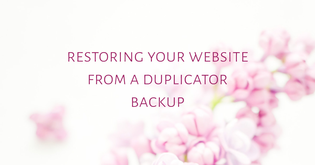 restoring-your-website-from-a-Duplicator-Backup