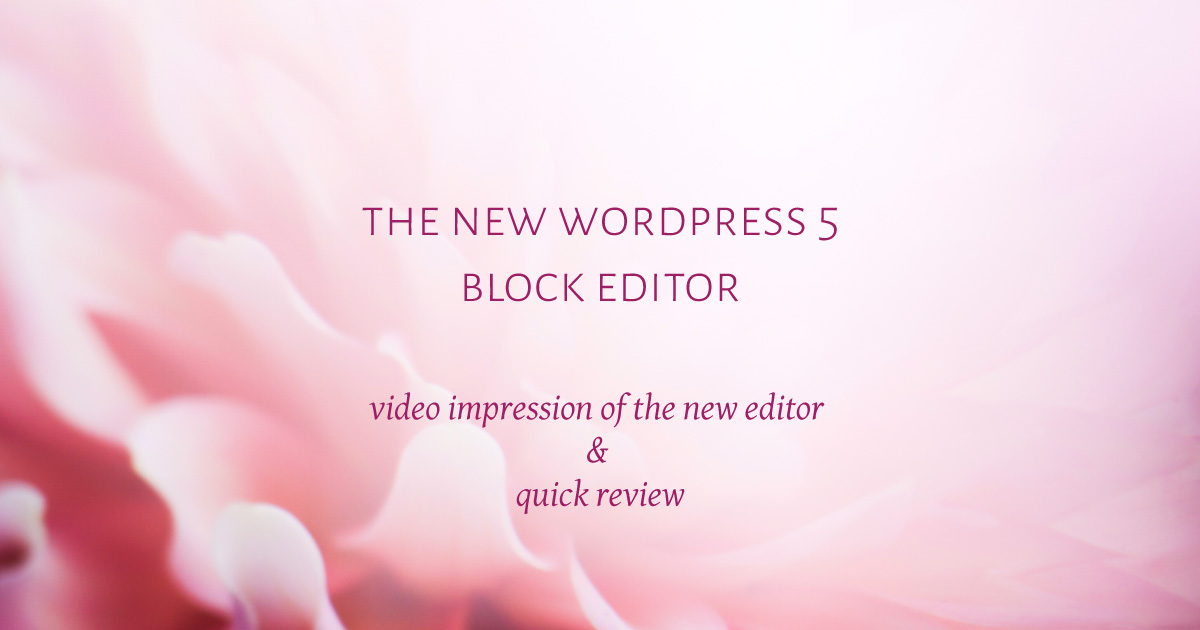 the-new-WordPress-5-Block-Editor