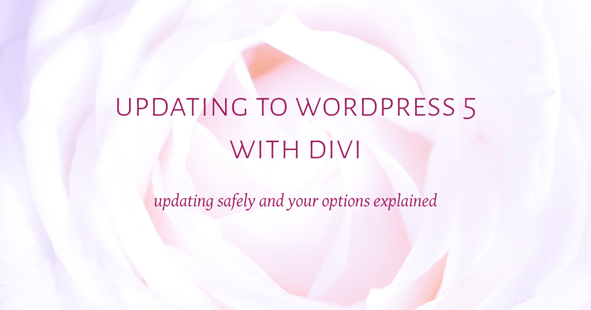 updating-to-Wordpress-5-with-Divi