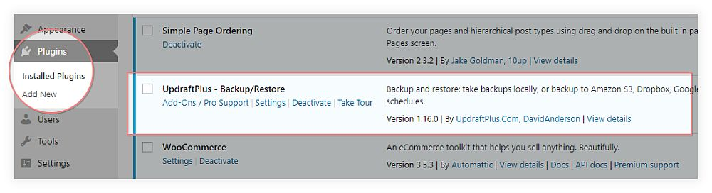 UpdraftPlus Backup and Restore Plugin